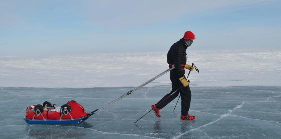350 míl arktického šialenstva