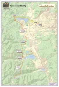 Leadville Trail 100 Run Course Map