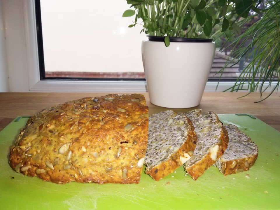 Paleo chlieb - chlieb ktorý chutí