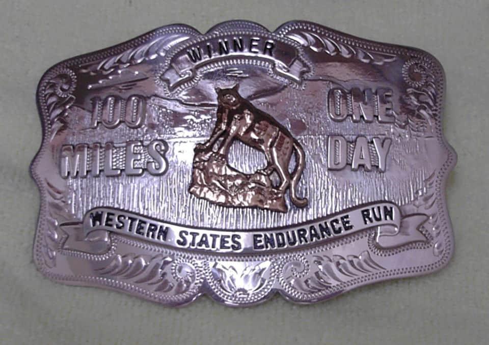 Opasková pracka z Western States 100