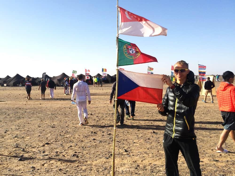 Jde o neuvěřitelně těžký závod - rozhovor s Petrem Vabrouškem o Marathon des Sables