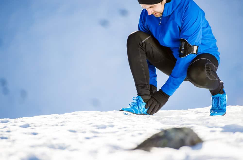 Ako si chrániť nohy pri behaní v zime